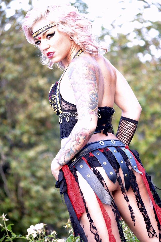 Female model photo shoot of Dee Nasty