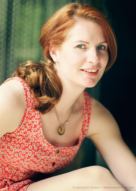 Female model photo shoot of SoGinger by silverystars