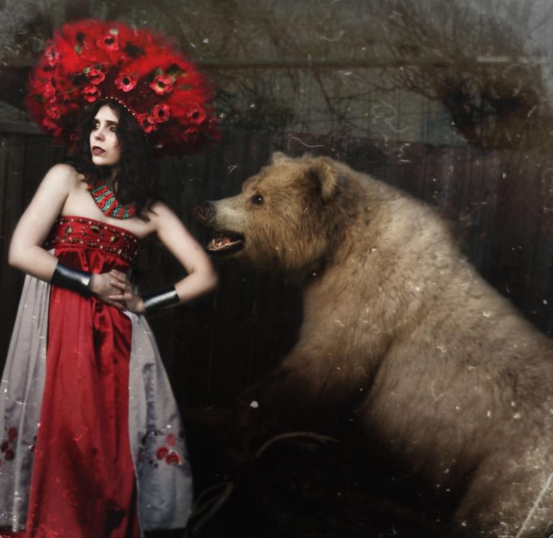 Female model photo shoot of Natasha Lazarovic in Newburg, ND
