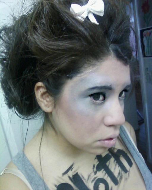 Female model photo shoot of Jacky Irene