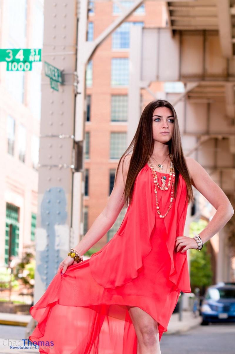 Female model photo shoot of Kate Melde in Georgetown, DC