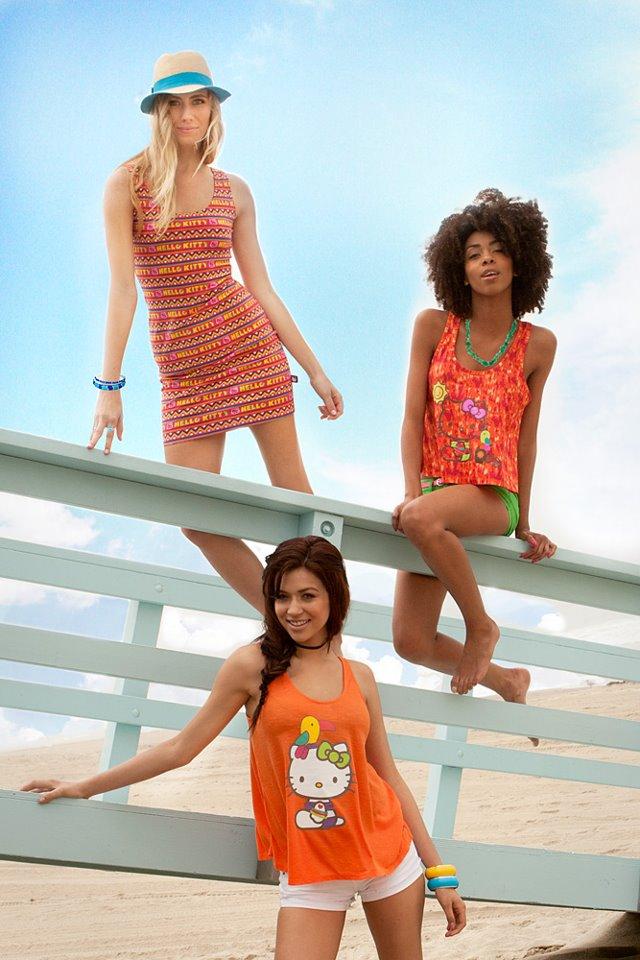 Redondo Beach 2012 Jun 21, 2012 Hello Kitty, Macys Brazil, Sanrio Hello Kitty Ad for Hello Kitty Wesbsite & Facebook