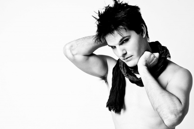 Male model photo shoot of Richard G. by Beverly De Jesus , makeup by Pretty In Ink by Beth