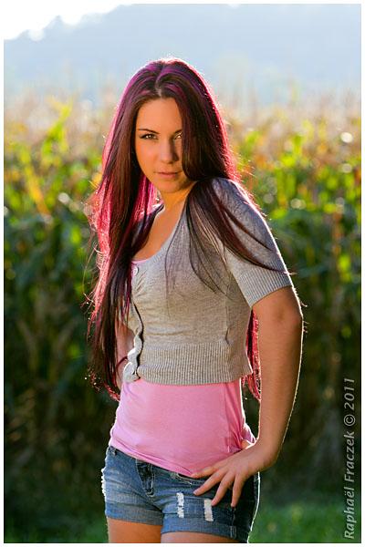 Female model photo shoot of Patricia Lebeau by Raphael Fraczek Photo in St-Augustin