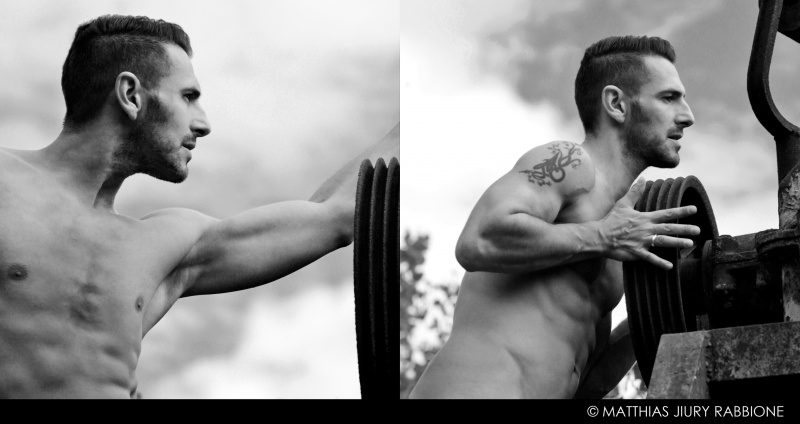 Male model photo shoot of Matthias Rabbione in Lombardy, Italy
