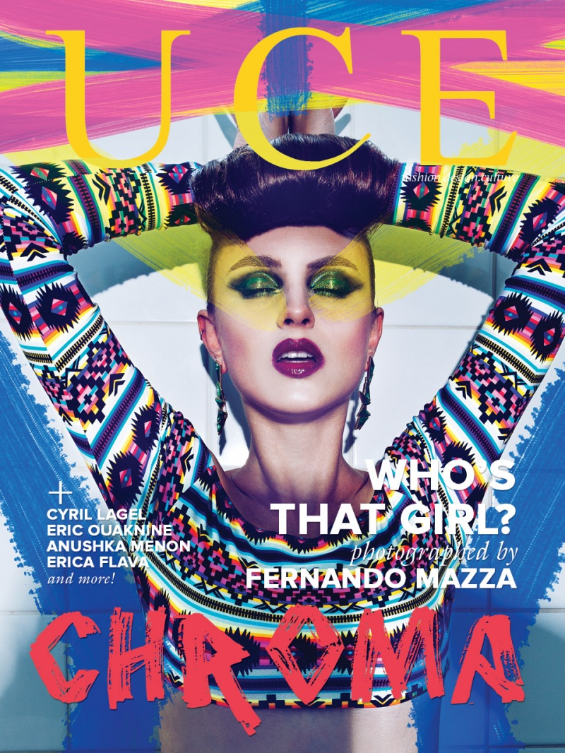Jun 28, 2012 UCE Magazine CHROMA Issue Cover photographed by Fernando Mazza