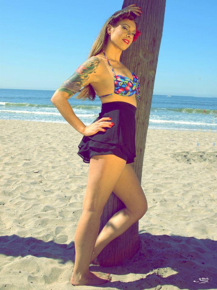 Female model photo shoot of Rebella in Oceanside,CA