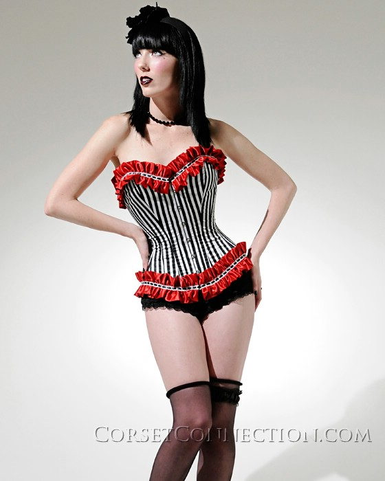 Female model photo shoot of Corset Connection