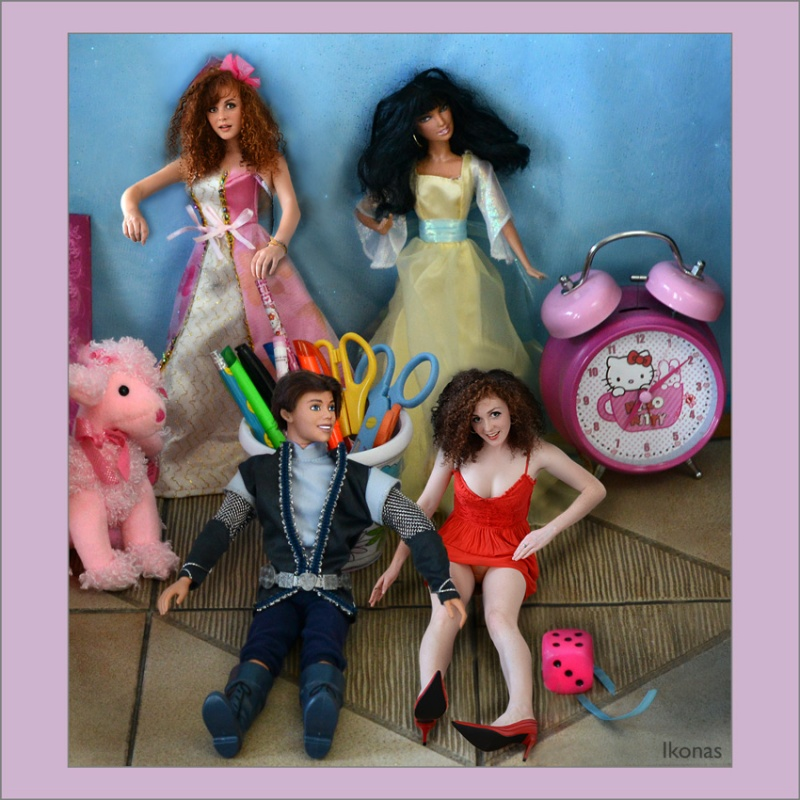 my studio Jul 03, 2012 Ikonas Photo (c) Real Barbies