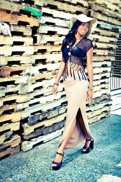 Female model photo shoot of Shanee Monroe Artistry in Model: Sherice
