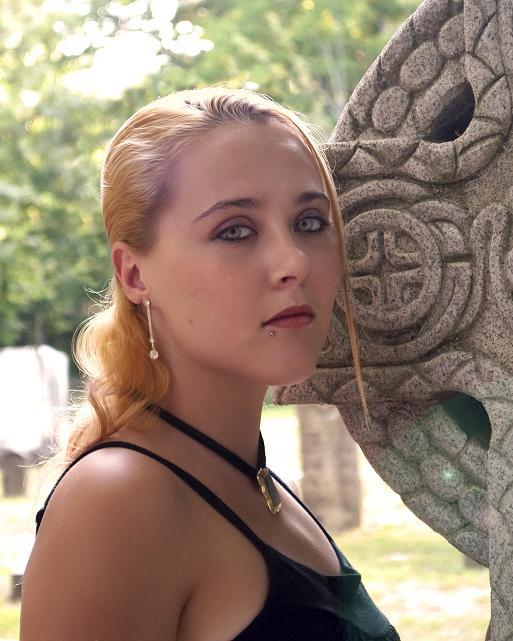 Female model photo shoot of Gyspy Magic in ky