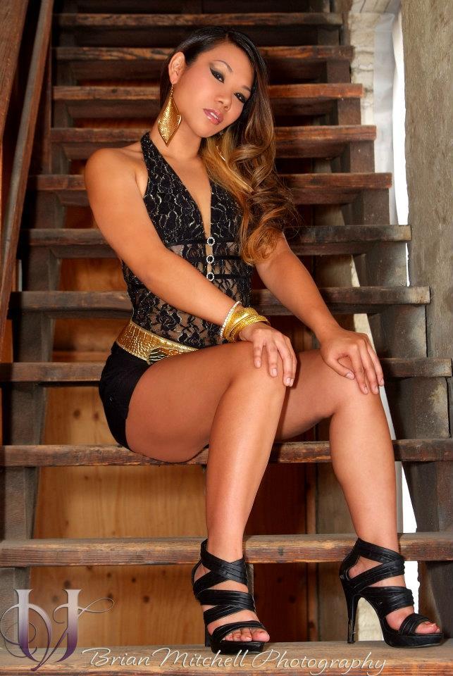 Female model photo shoot of D Asia