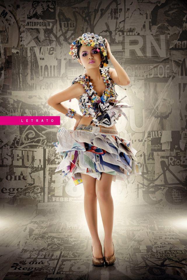 Gulf Photo Plus Studio Dubai Jul 09, 2012 Photographer: Andy Ramos Letrato - HMUA: Joseph Tayco Paper Doll