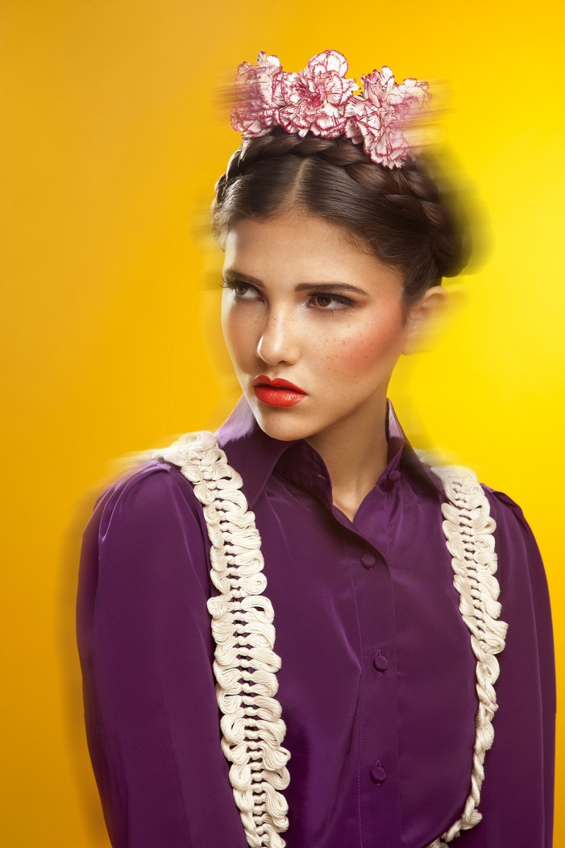 Female model photo shoot of Jelin George