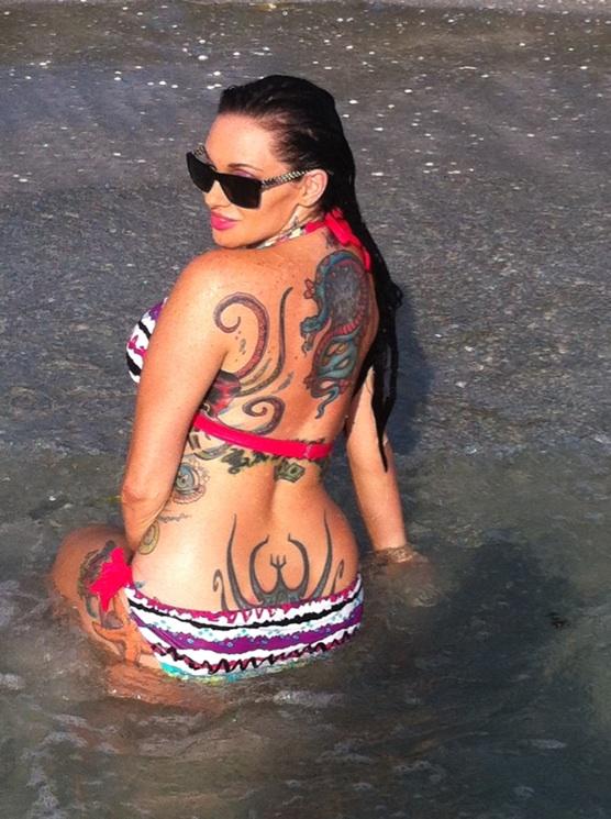 Female model photo shoot of Lady Luck in Longboat Key Florida