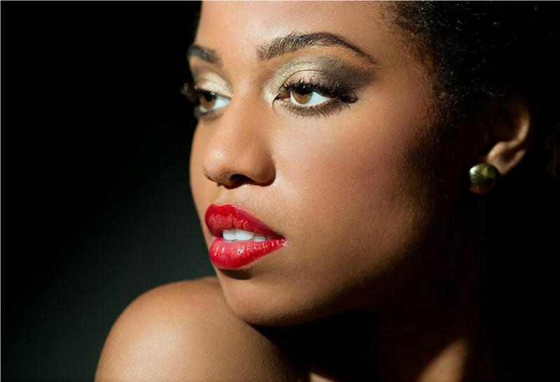Female model photo shoot of Shanee Monroe Artistry in Model: Angel Lenise