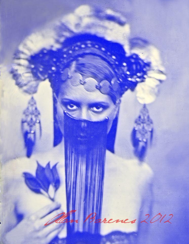 Los Angeles, CA Jul 14, 2012 2012 Allan Barnes Allan Barnes Tintype Collaboration w/ Caley Johnson (hat designer)