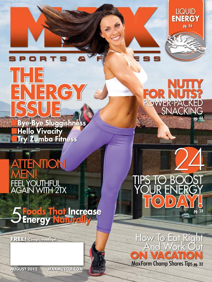 Jul 17, 2012 JP 2012 Max Sports & Fitness August 2012 (MUA: Alyssa Rosner)