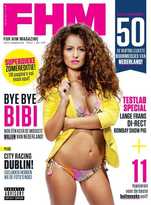 www.bibischouten.nl Jul 18, 2012 Toonen & Wientjens Bibi Schouten @ FHM Cover