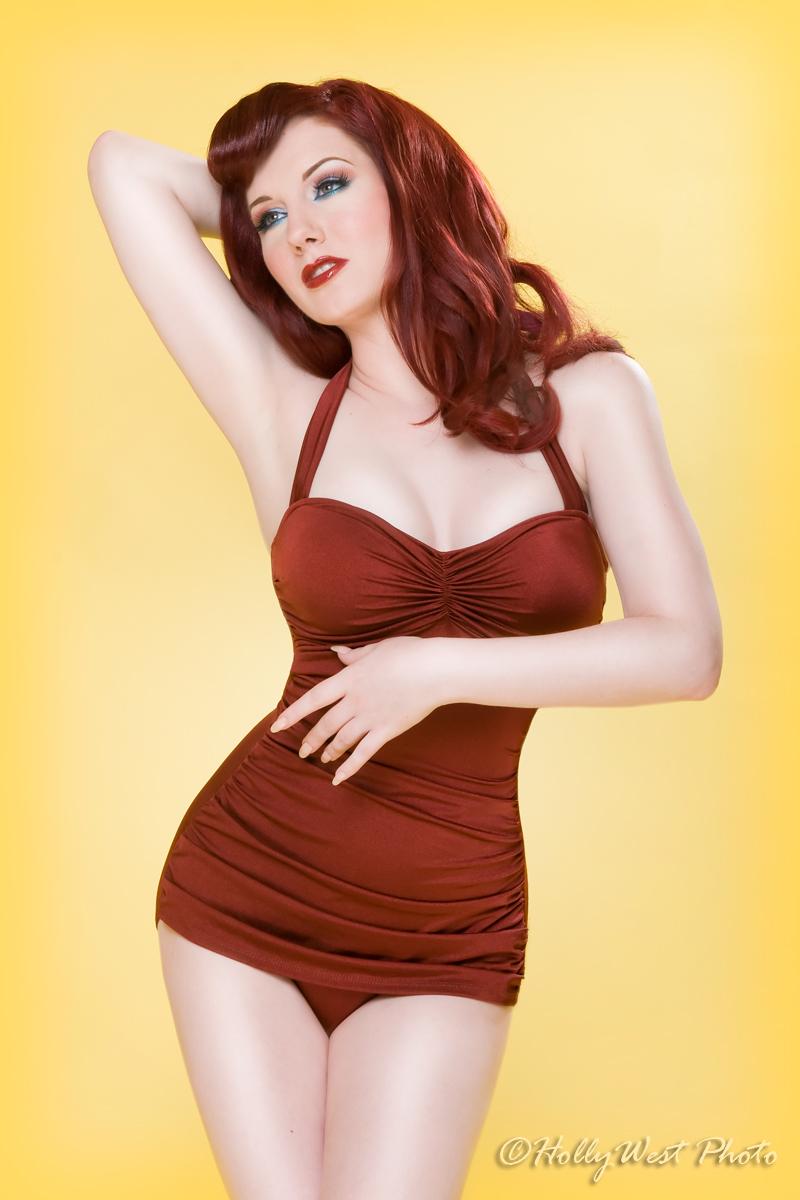 LA, CA Jul 19, 2012 Holly West muah: rebecca schillinger, wardrobe: esther williams