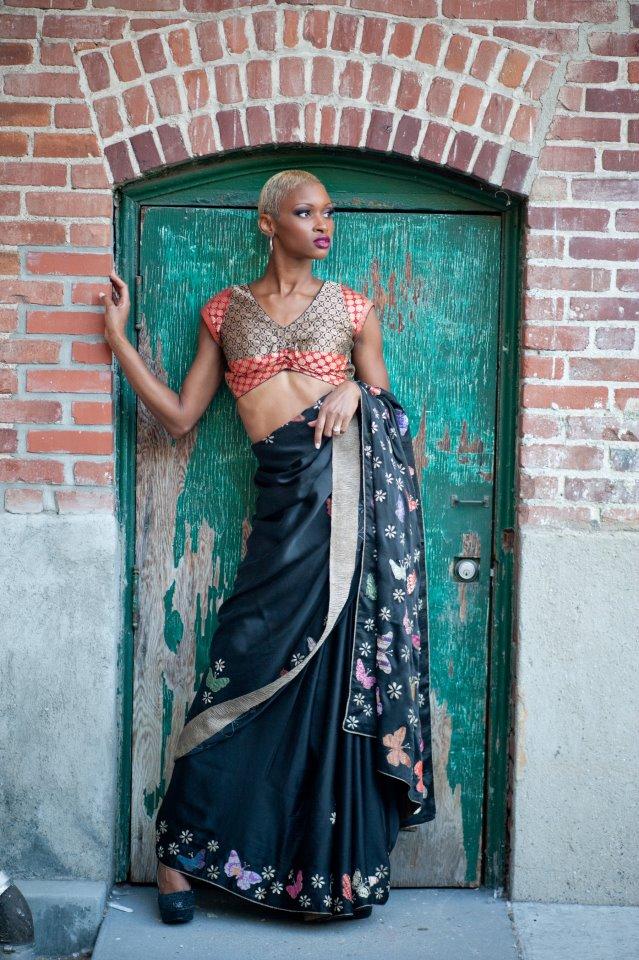 Haute Couture 2012 LA Design Center Jul 19, 2012 Rohini Bedi Designs and Make-up by 5150 studios