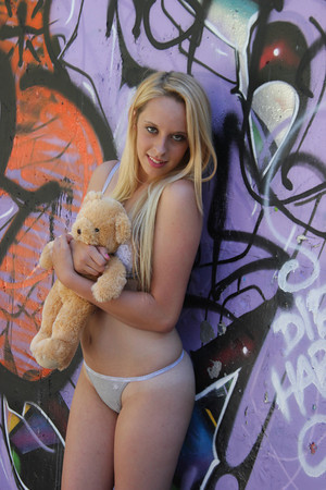 Female model photo shoot of Taylor Lex  in Scary Dairy, Camarillo, CA