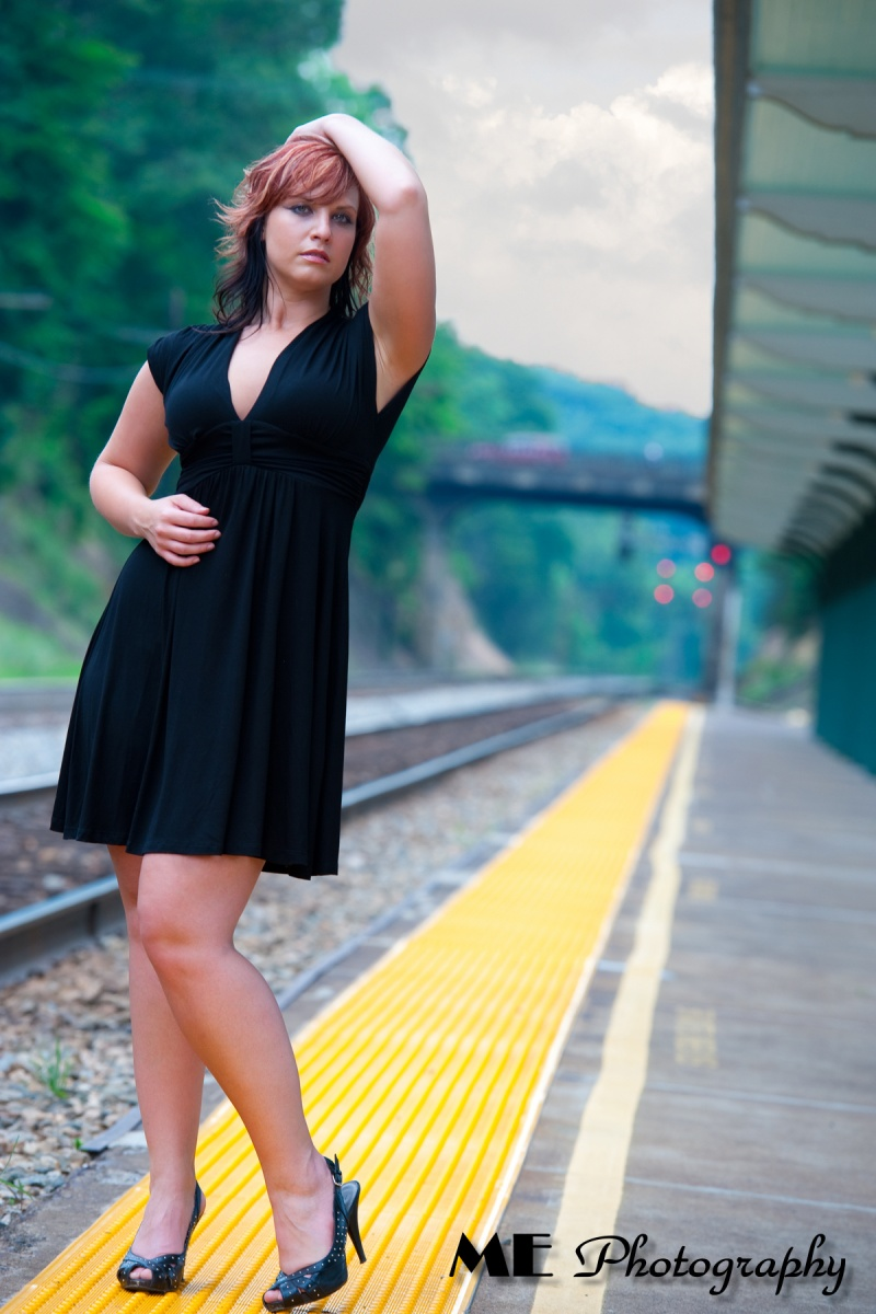White Sulpher Springs, WV Jul 23, 2012 ME Photography Waiting for the train