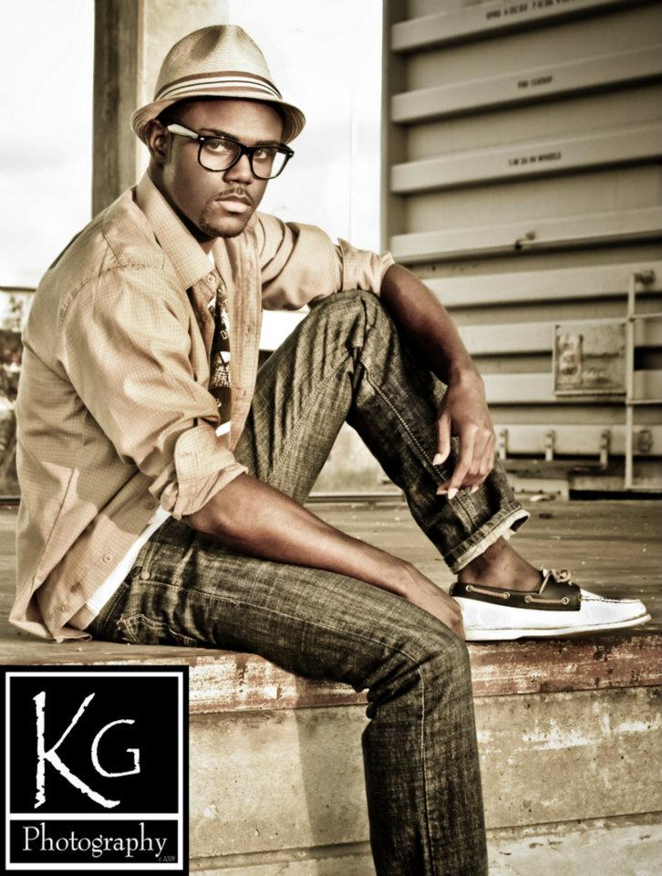 Male model photo shoot of Images by KG