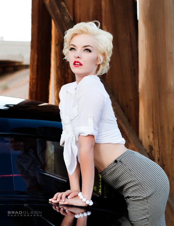 Jul 24, 2012 Brad Olson - Photographer Briana as Marilyn