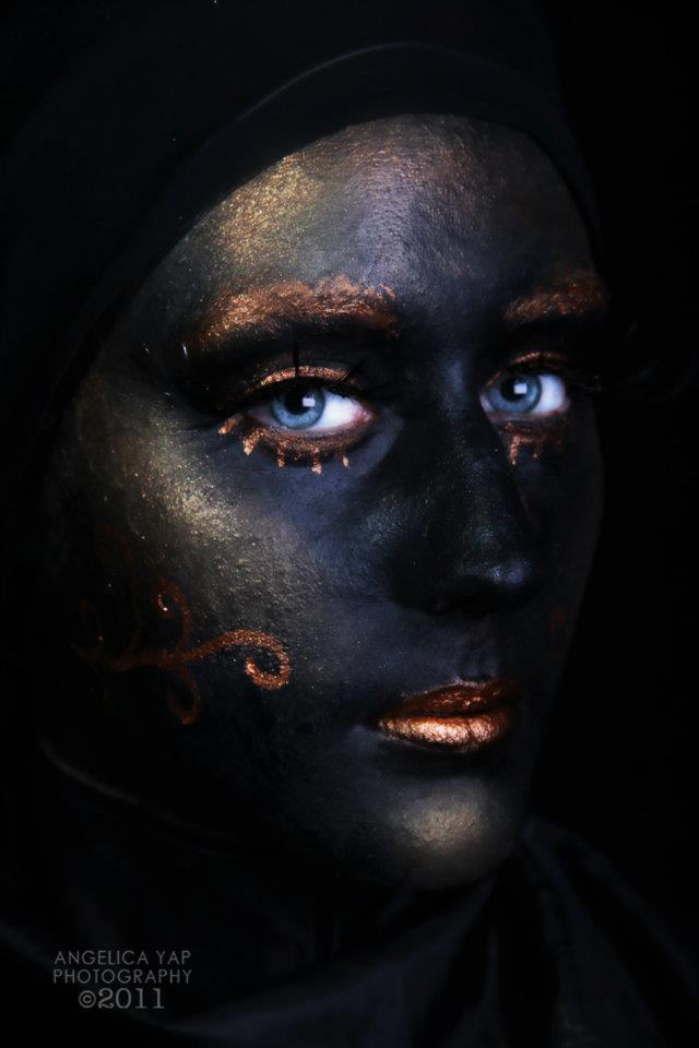 Female model photo shoot of Make-up Ur Mind in Perth, Western Australia
