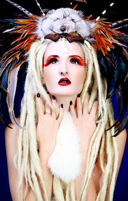Los Angeles Jul 25, 2012 RYDER make-up labs LLC / James Ryder Workshop Photo - Student Work