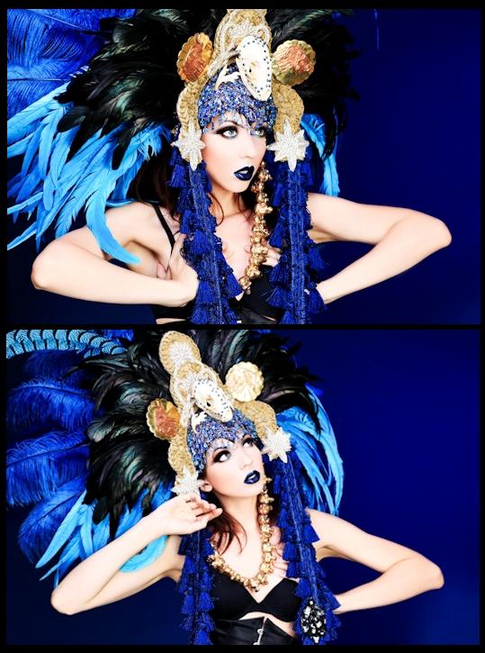 Los Angeles Jul 25, 2012 James Ryder Model: Twigglet Photographer: James Ryder  Designer: Bubbles And Frown Haberdashery Shoppe Make-up Artist: Joy Beth Ryan