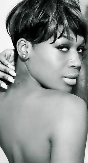 Female model photo shoot of Keiasha Chanel  in NYC