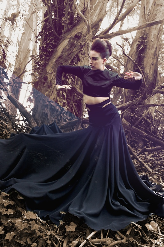 Female model photo shoot of emasita