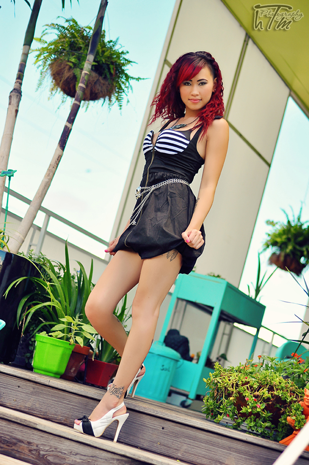 Female model photo shoot of HTM Photography11