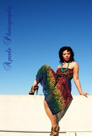 Female model photo shoot of Ranata Cardin