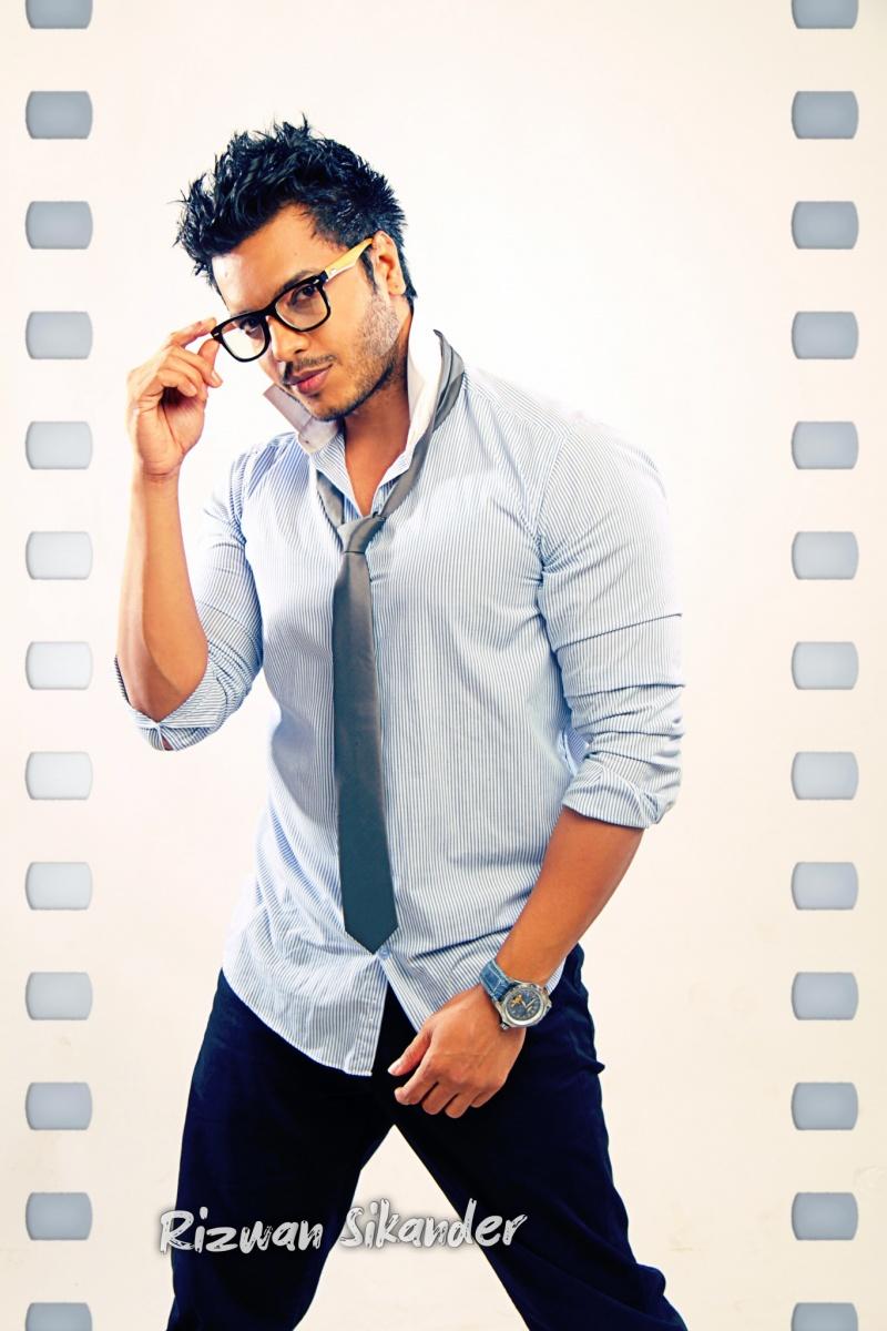 Male model photo shoot of Rizwan Sikander in mumbai