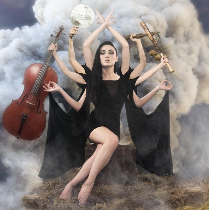 Los Angeles Jul 29, 2012 2011 Dan Santoni Artwork/Cover to Tina Guos upcoming Fall 2012 Cinematic Album Release: ETERNITY.