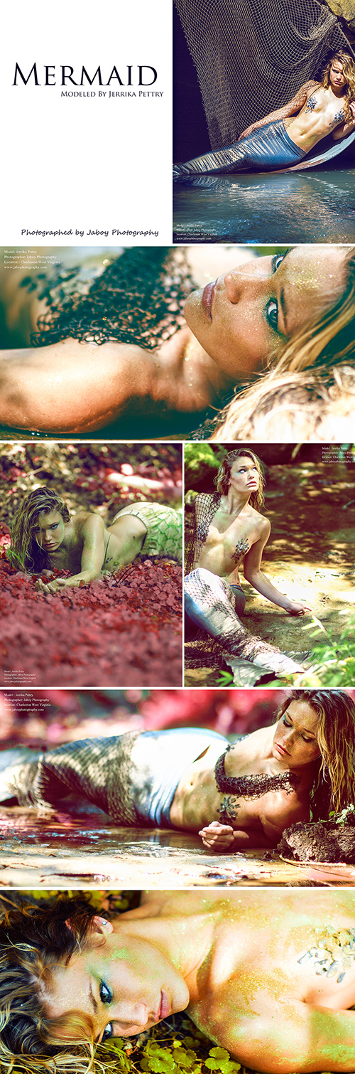 Charleston WV Aug 02, 2012 jaboy photography  Mermaid Photoshoot