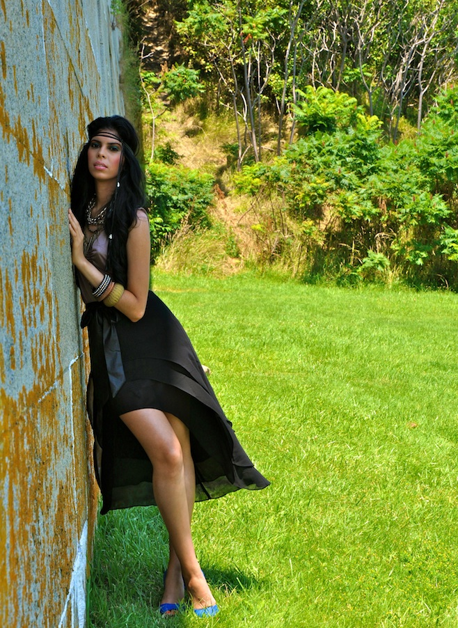 Female model photo shoot of Falicia Ann   in Georges Island