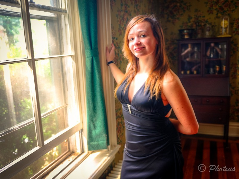 Female model photo shoot of Rachel Talbert and CPS by Photeus Photography in Winchester VA
