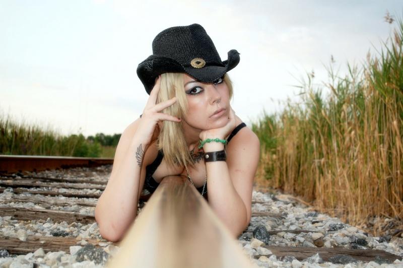 Female model photo shoot of Lina Inverse  by RazorFace Photography