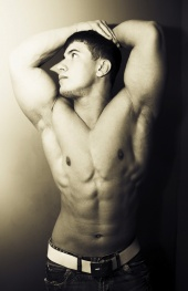 MASCULINE DOSAGE: River Viiperi by Brent Chua | Image