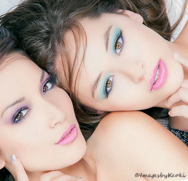 Oahu Aug 08, 2012 ImagesbyKeoki  ( All Rights Reserved ) © 2012 MUSE SISTERS ( my favorite muses ) Tia and Tasha ( makeup by: Nathalie Kim ) hair done by the models. Creative design  by: Tia