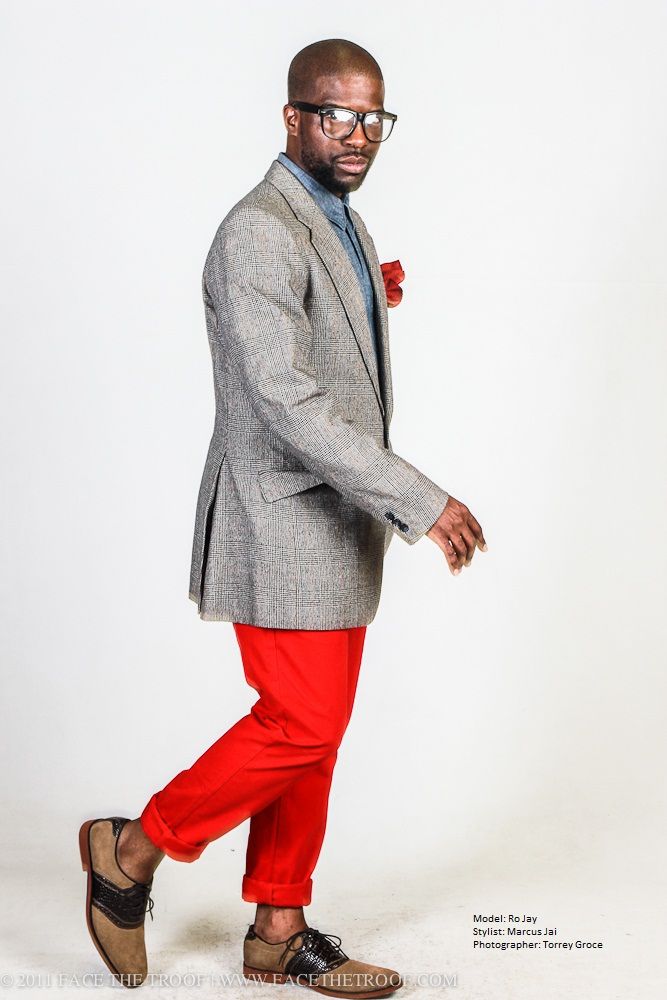 Male model photo shoot of Marcus Jai