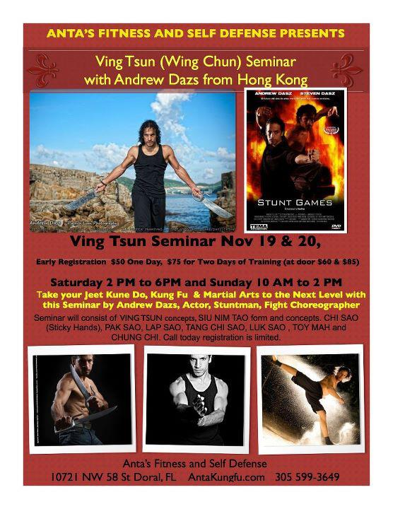 MIAMI - FLORIDA (USA) Aug 09, 2012 KUNG FU GRUPO HK VING TSUN SEMINAR IN MIAMI (FLORIDA) 2011