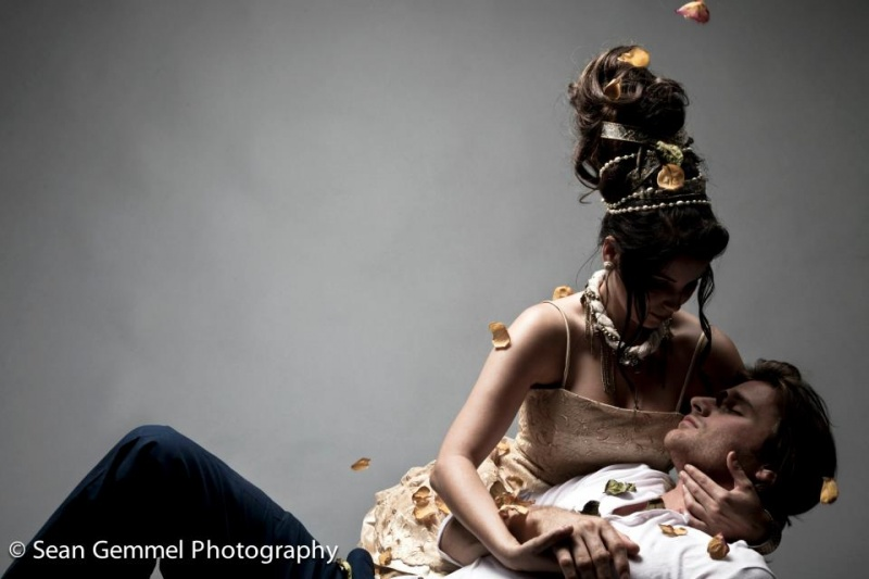 Female and Male model photo shoot of Alexis Montclaire and Edward  Ligouri by Sean Gemmel in SCAD - Atlanta