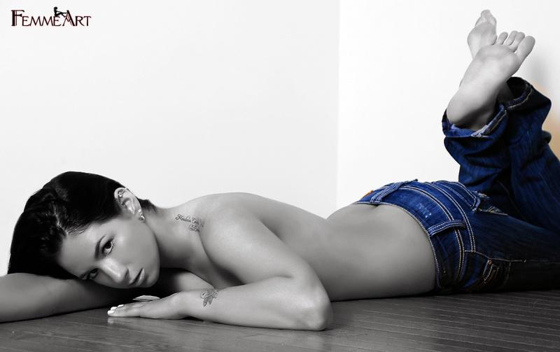 Male and Female model photo shoot of FemmeArtPhoto and Kristen Neiser