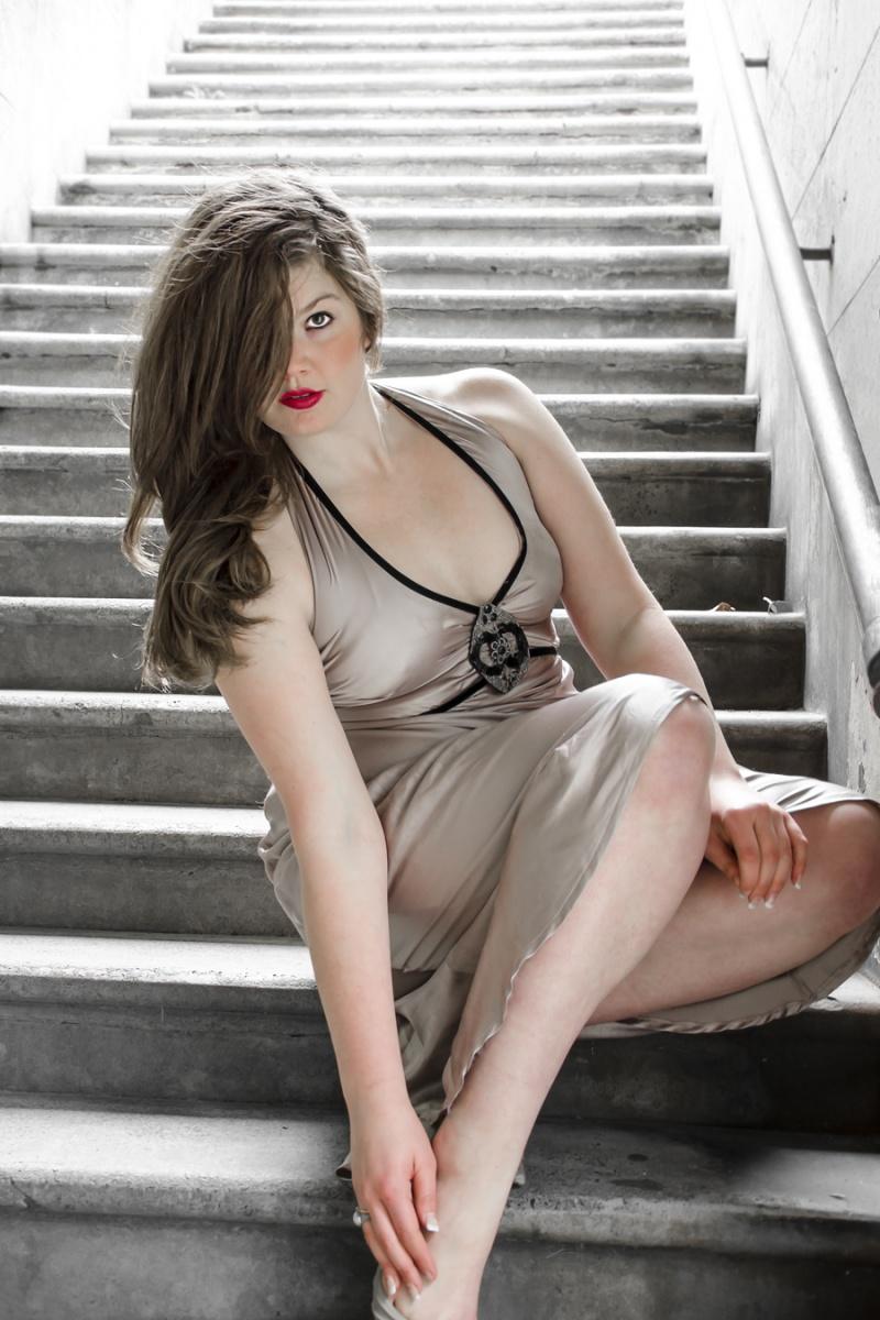 Female model photo shoot of Bianca Howard by Louie Henry