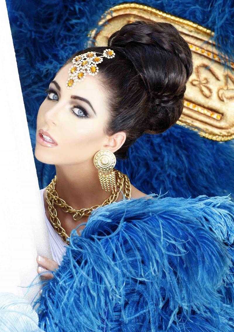 Caesars Palace, Las Vegas Aug 16, 2012 Fadil Berisha Miss USA